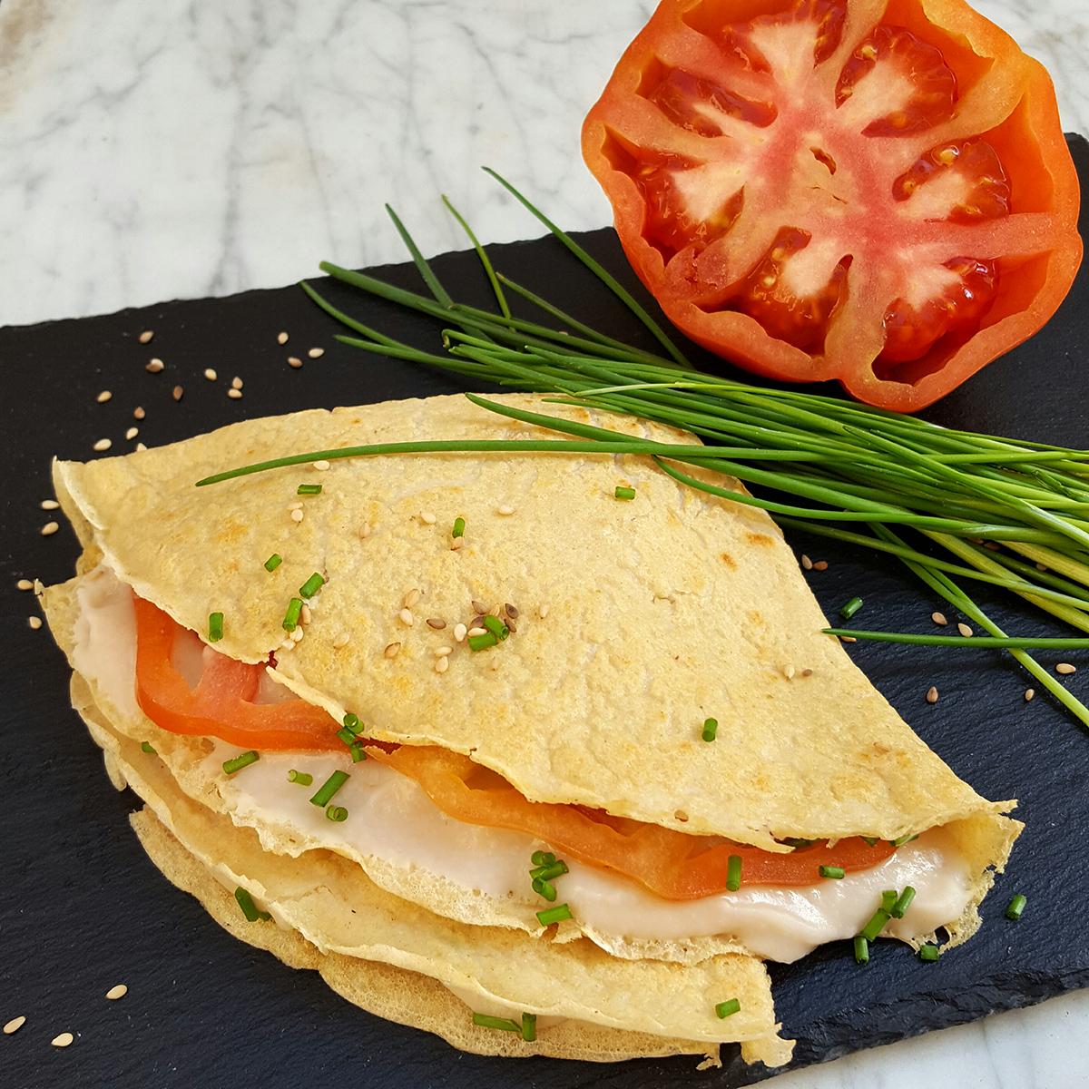 Crêpes (senza latte né uova!) - la Cuoca Insolita