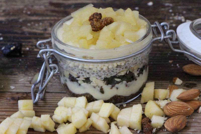 colazione cereali e frutta